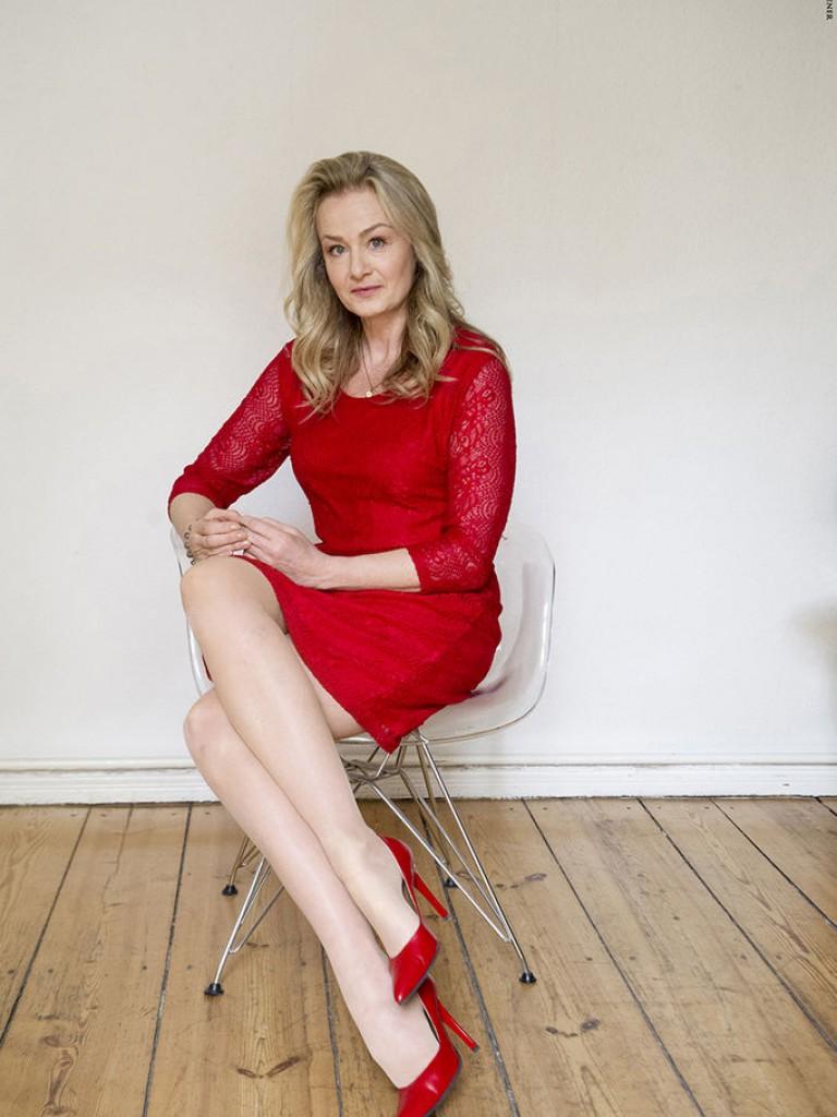In heels moderatorinnen high Marlene Lufen